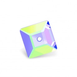MM8X8 SQUARE CRYSTAL AB-10pcs