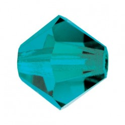 BICONE BLUE ZIRCON PRECIOSA MM5-Pack of 144