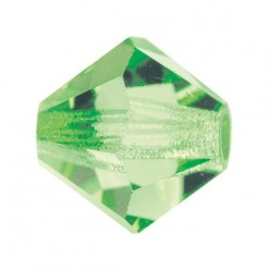 PRECIOSA BICONES MM5 PERIDOT-Pack of 144 sale online, best price