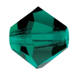 PRECIOSA BICONES MM5 EMERALD-Pack of 144
