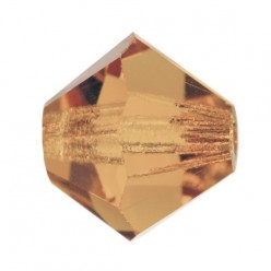 PRECIOSA BICONES MM5 LIGHT COL. Topaz-Pack of 144 sale online