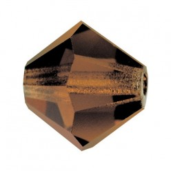 PRECIOSA BICONES MM5 SMOKED TOPAZ-Pack of 144 sale online, best