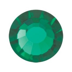 PRECIOSA THERMOADHESIVE SS16 (4 mm) EMERALD-Pack of 144
