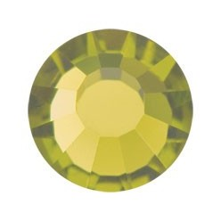 PRECIOSA THERMOADHESIVE SS16 (4 mm) OLIVINE-Pack of 144