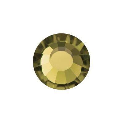 STRASS PRECIOSA TERMOADESIVO SS16(4MM) GOLD BERYL-144PZ