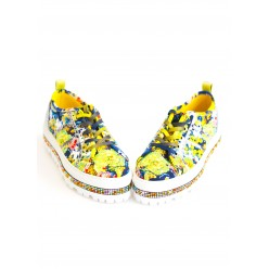 SNEAKERS SZ 38 NATURE with Rhinestones Preciosa and Sticky