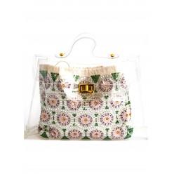 Iconic bag with Rhinestones Preciosa sale online, best price